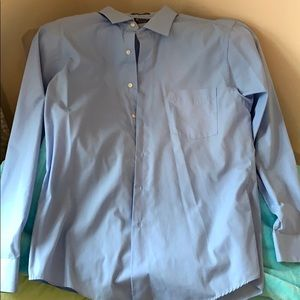men's dress shirt great condition size: 16.5 34/35